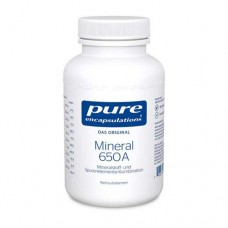 PURE ENCAPSULATIONS Mineral 650A Kapseln 180 St