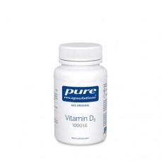 PURE ENCAPSULATIONS Vitamin D3 1000 I.E. Kapseln 120 St