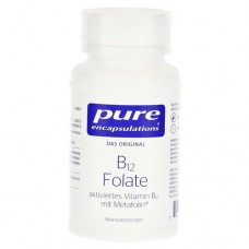 PURE ENCAPSULATIONS B12 Folate Kapseln 90 St