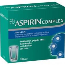ASPIRIN COMPLEX Btl.m.Gran.z.Herst.e.Susp.z.Einn. 20 St