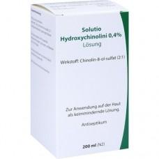 SOLUTIO HYDROXYCHIN. 0,4% 200 ml