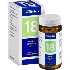 BIOCHEMIE Orthim 18 Calcium sulfuratum D 12 Tabl. 400 St