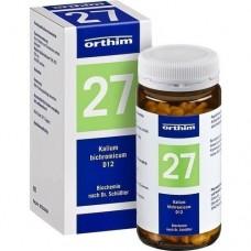 BIOCHEMIE Orthim 27 Kalium bichromicum D 12 Tabl. 400 St