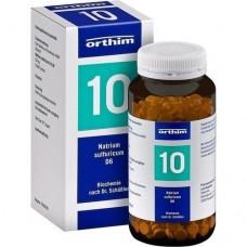 BIOCHEMIE Orthim 10 Natrium sulfuricum D 6 Tabl. 800 St