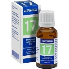 BIOCHEMIE Globuli 17 Manganum sulfuricum D 12 15 g