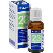 BIOCHEMIE Globuli 23 Natrium bicarbonicum D 12 15 g