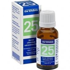 BIOCHEMIE Globuli 25 Aurum chloratum natrona. D 12 15 g