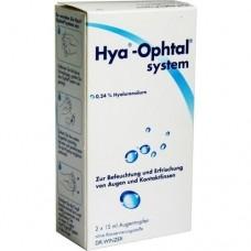 HYA OPHTAL system Augentropfen 2X15 ml