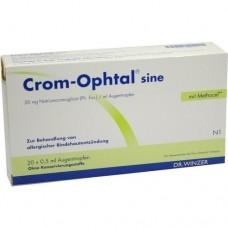 CROM OPHTAL sine EDB Augentropfen 20X0.5 ml