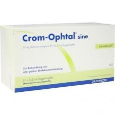 CROM OPHTAL sine EDB Augentropfen 50X0.5 ml