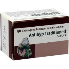 ANTIHYP Traditionell Schuck überzogene Tab. 50 St