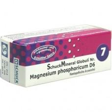 SCHUCKMINERAL Globuli 7 Magnesium phosphoricum D6 7.5 g