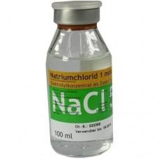 NATRIUMCHLORID Inf.Lsg.5,85% 1 molar Glas 100 ml