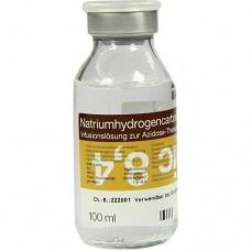 NATRIUM HYDROGENCARBONAT 8,4% 1 mol Glas 100 ml