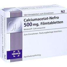 CALCIUMACETAT NEFRO 500 mg Filmtabletten 100 St