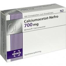 CALCIUMACETAT NEFRO 700 mg Filmtabletten 100 St