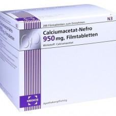 CALCIUMACETAT NEFRO 950 mg Filmtabletten 200 St