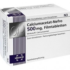 CALCIUMACETAT NEFRO 500 mg Filmtabletten 200 St