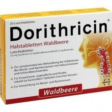 DORITHRICIN Halstabletten Waldbeere 20 St