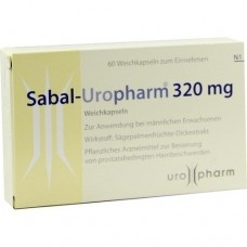 SABAL UROPHARM 320 mg Weichkapseln 60 St