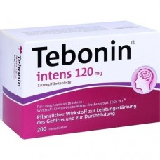 TEBONIN intens 120 mg Filmtabletten 200 St