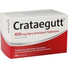 CRATAEGUTT 450 mg Herz-Kreislauf-Tabletten 200 St