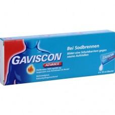 GAVISCON Advance Pfefferminz Suspension 4X10 ml