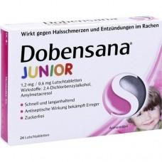 DOBENSANA Junior 1,2 mg/0,6 mg Lutschtabletten 24 St