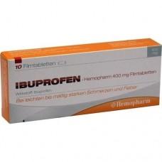 IBUPROFEN Hemopharm 400 mg Filmtabletten 10 St
