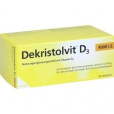 DEKRISTOLVIT D3 4.000 I.E. Tabletten 90 St