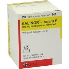 KALINOR retard P 600 mg Hartkapseln 20 St