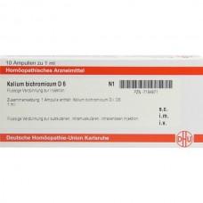KALIUM BICHROMICUM D 6 10x1 ML